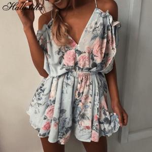 ropa mujer mono estampado de estilo bohemio moda mujer playa y ropa casual