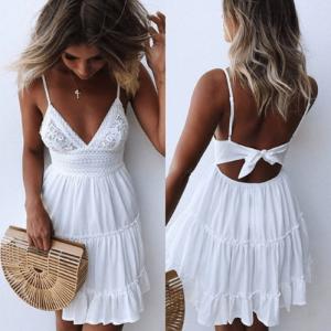 Verano Casual vestido de mujer sexy