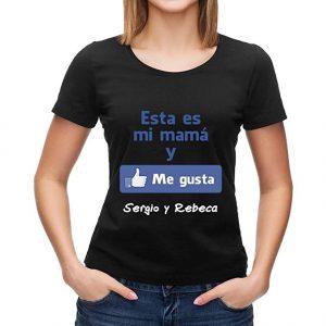camiseta esta es mi mama